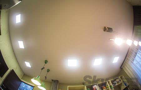 Матовые натяжные потолки плюсы и преимущества