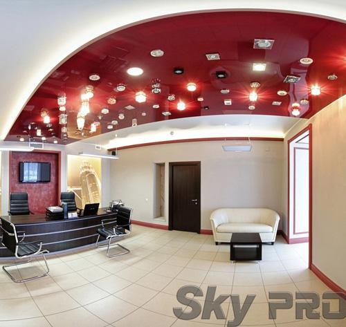 светильники в офисе SkyPRO в Малой Вишере